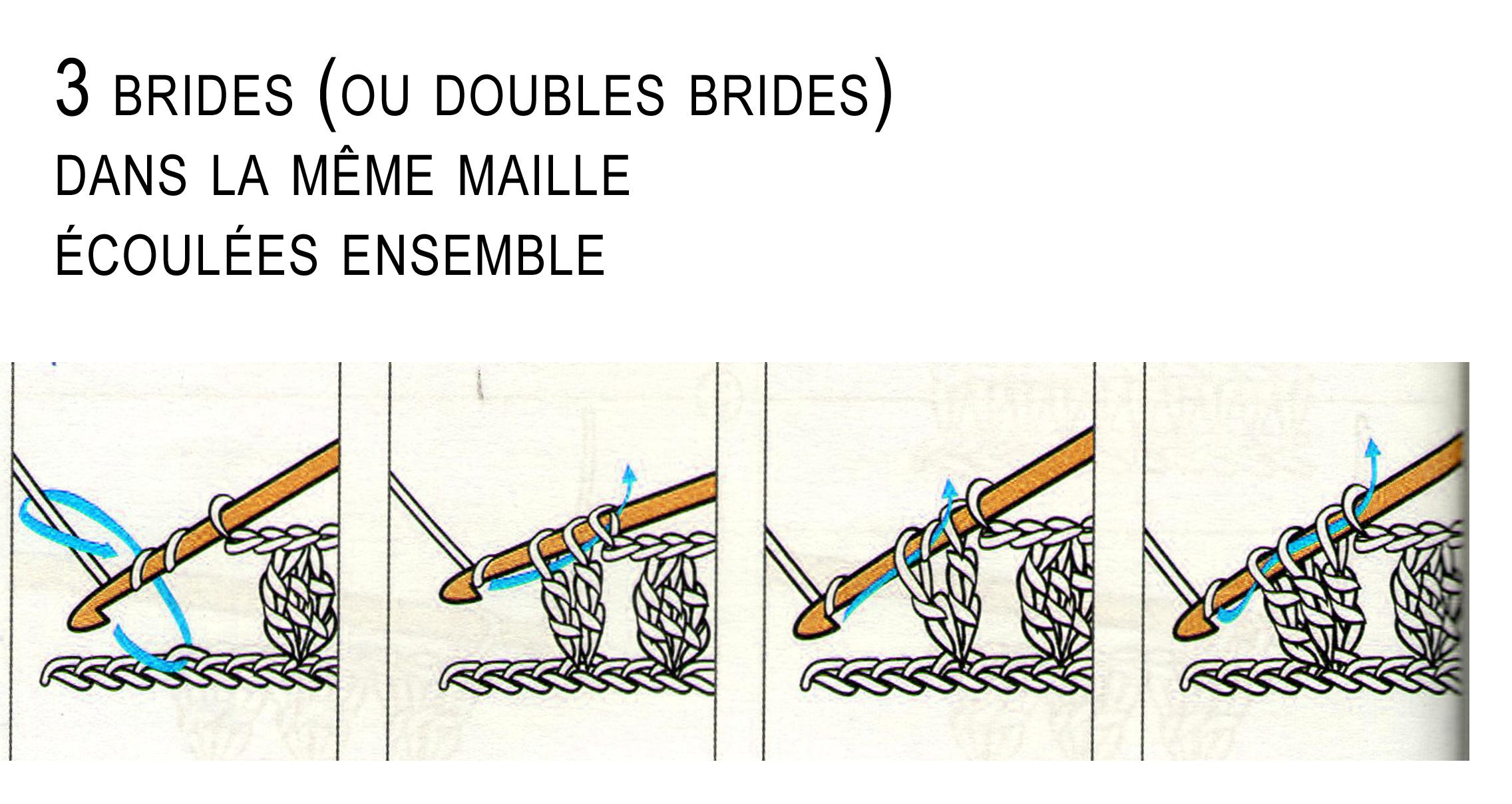 Bonnet et écharpe blancs crochet (3 ans) · Les mains de Sabine c6fd46bac7d