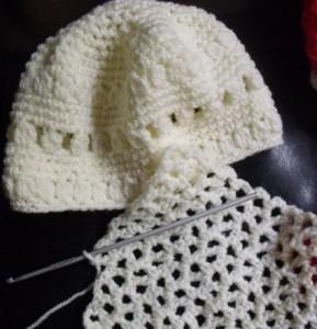 Bonnet et écharpe blancs crochet (3 ans) dans CROCHET/TRICOT DSCF2492-copie-289x300