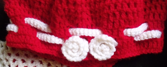 Bonnet et écharpe fille crochet (3 ans) · Les mains de Sabine a510fcdfe33