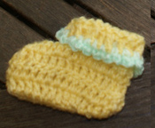 Chaussons Bébé Au Crochet Facile Les Mains De Sabine