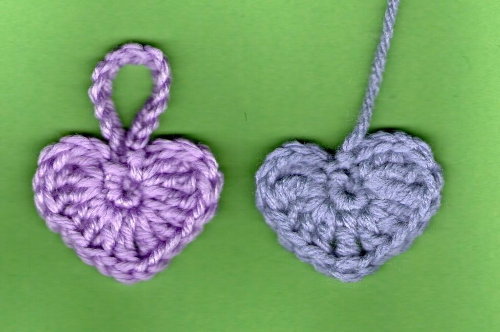 Tuto Coeurs Au Crochet Facile Les Mains De Sabine