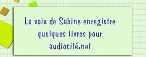 la voix de Sabine copie